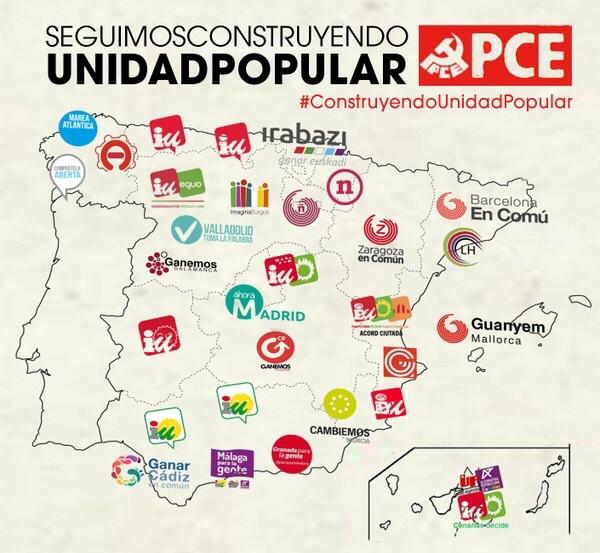 PCE - Construyendo Unidad Popular